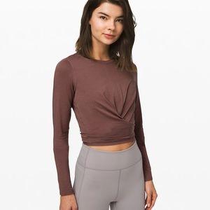 NWT Lululemon Long sleeve shirt